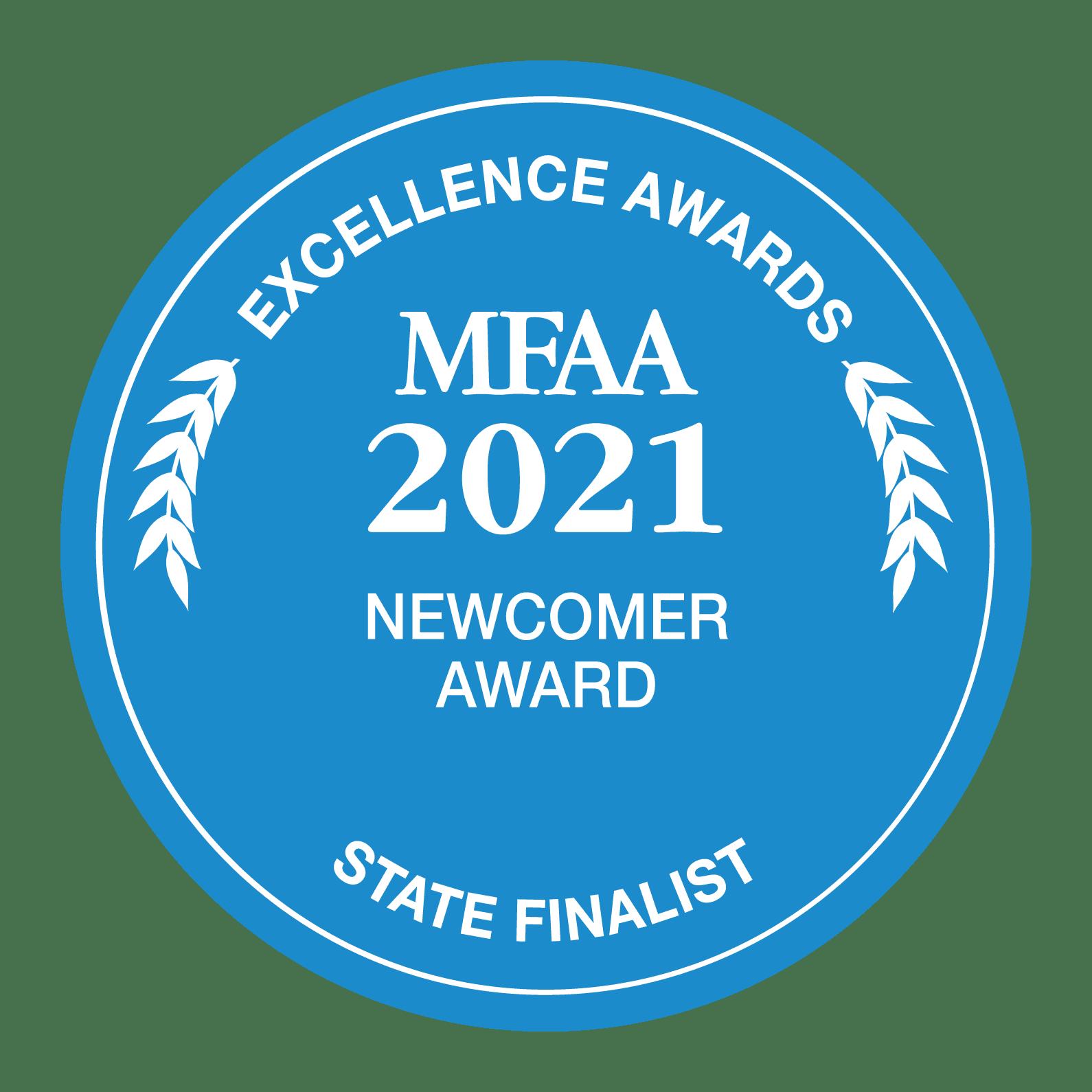 MFAA_2021_State-Finalist_REV_RGB_NewcomerAward