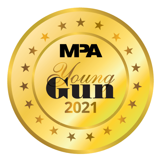 MPA Young Gun 2021 Medal